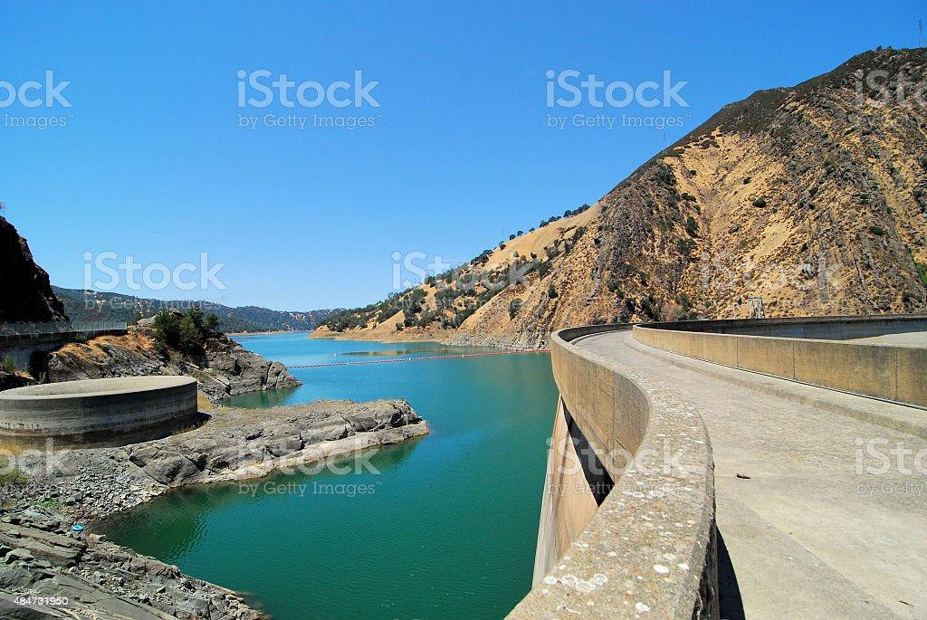 Berryessa Dam stock photo