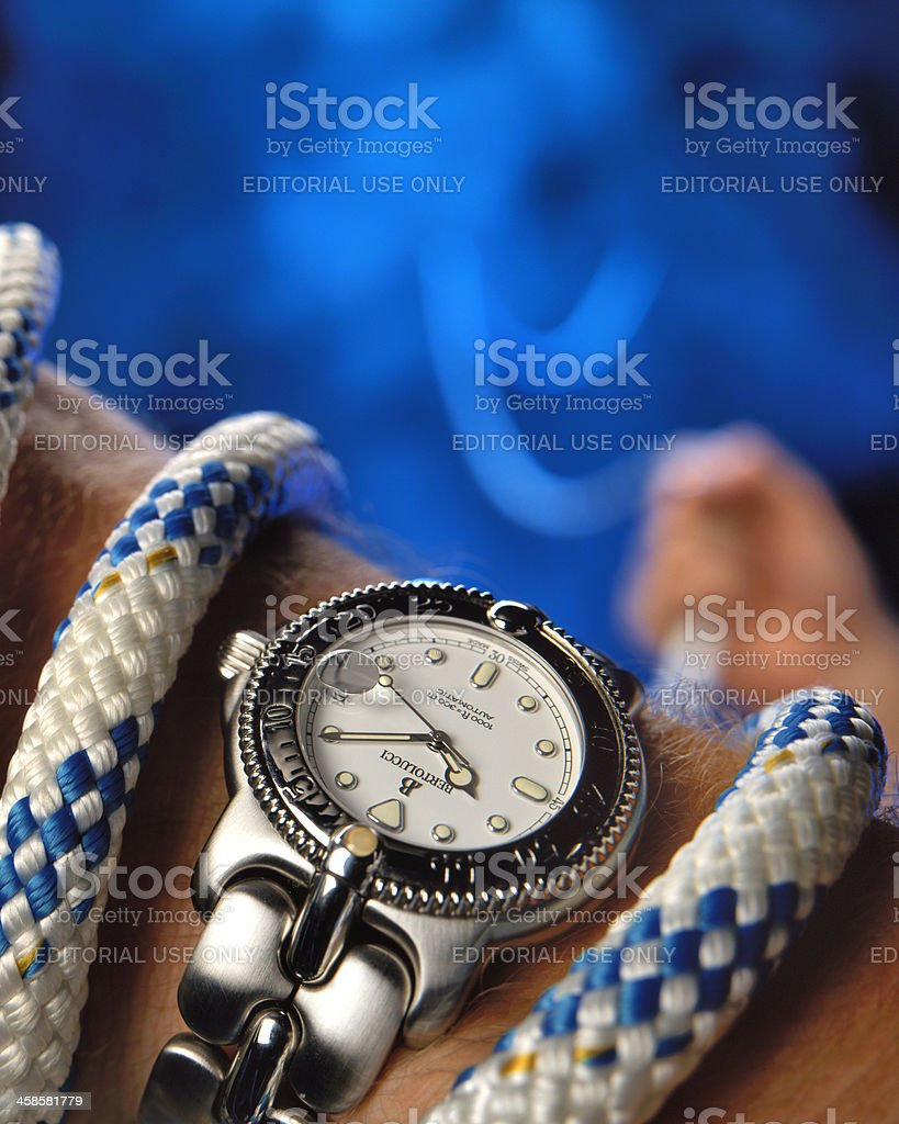 Bertolucci Bella Costa wristwatch stock photo