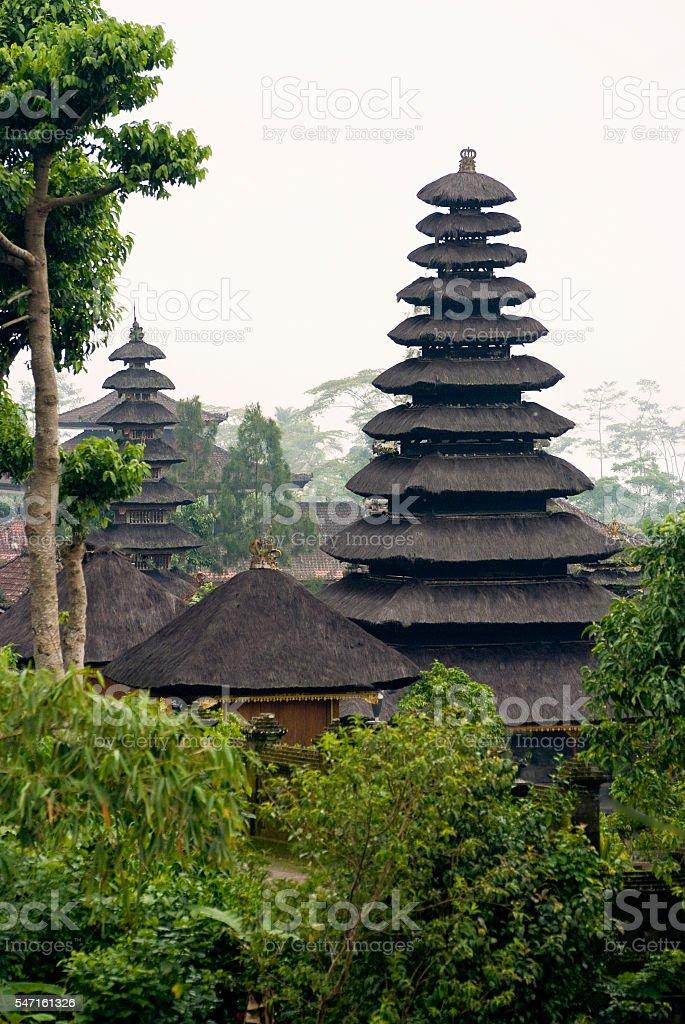 Besakih, Bali, Indonesia stock photo