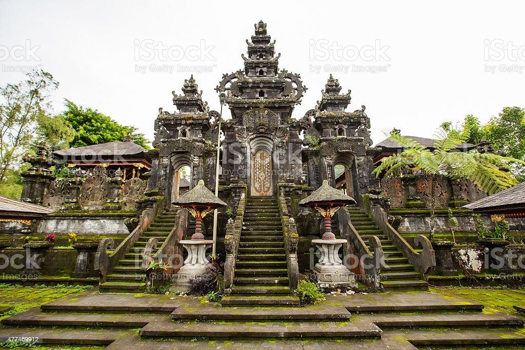 Besakih complex Pura Penataran Agung , hindu temple of Bali, Ind stock photo