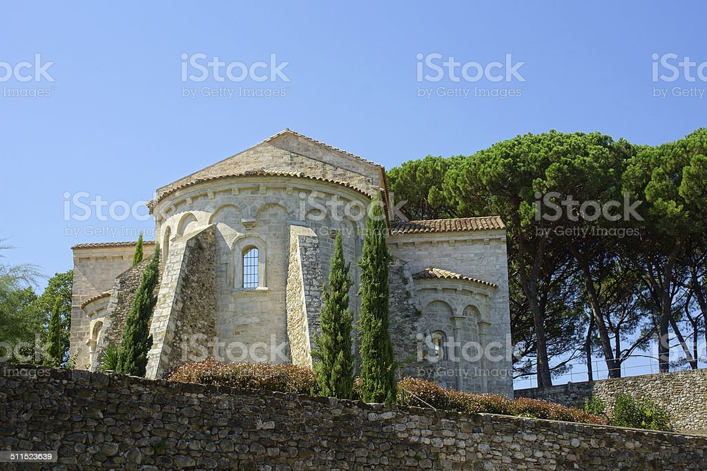 Besal? - Church stock photo