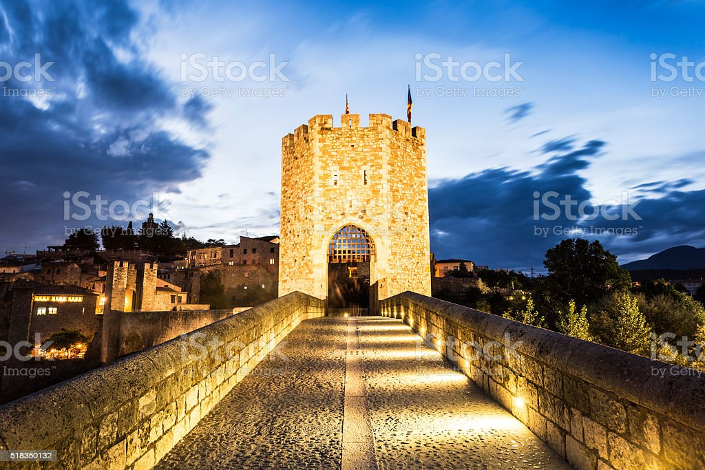 Besalu stock photo
