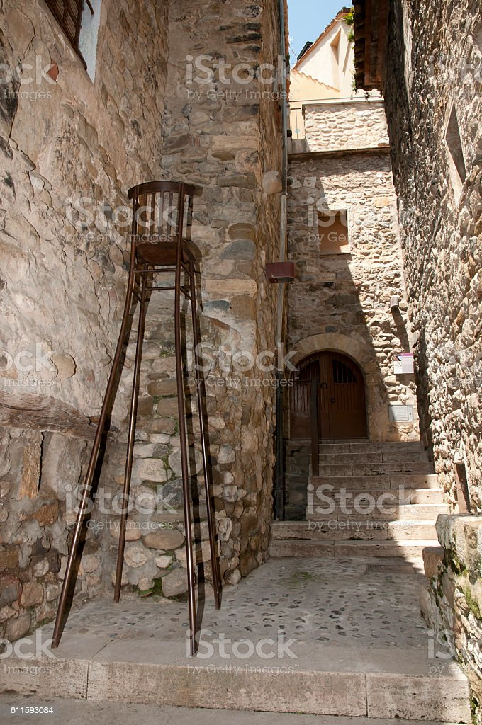 Besalu - Spain stock photo