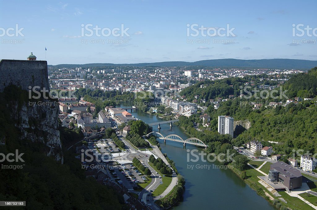 Besancon, France stock photo