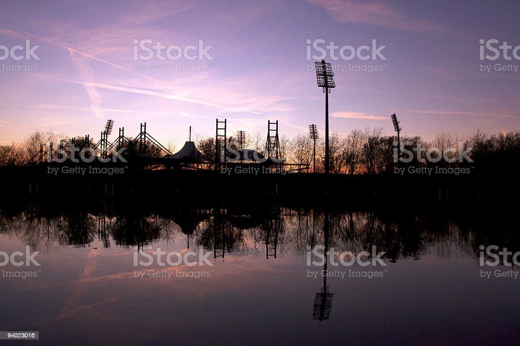 Beside the Canal royalty-free stock photo