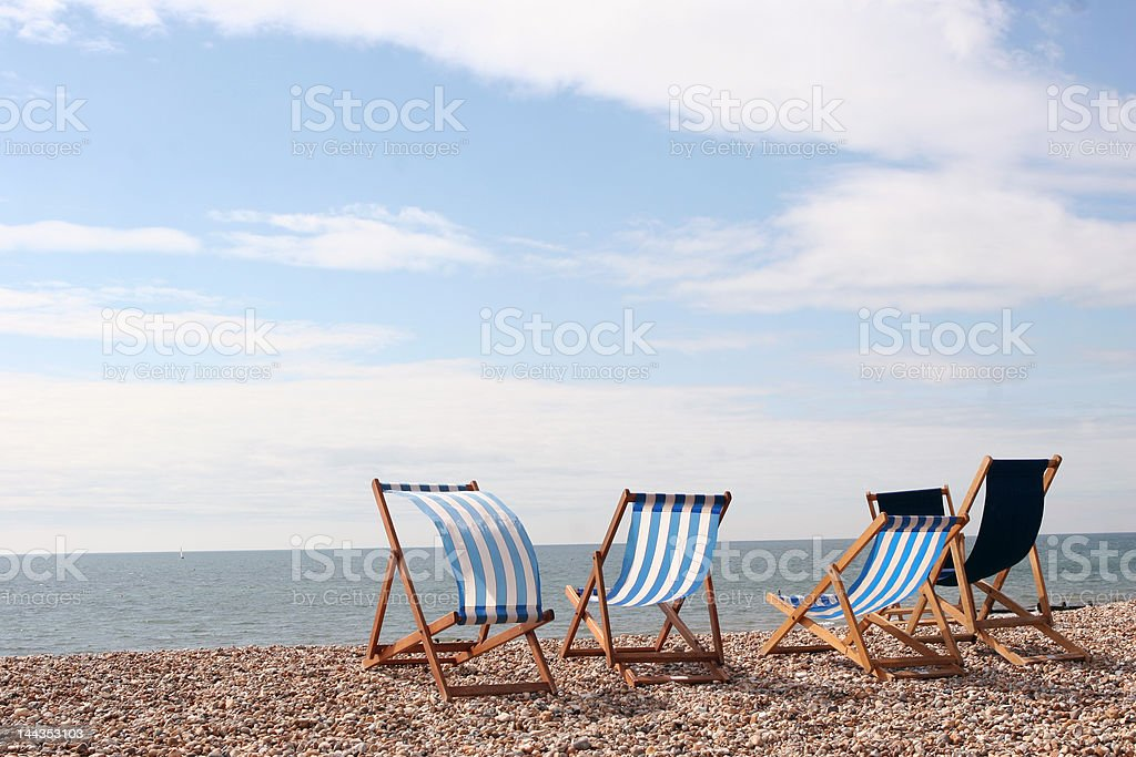 Beside the Seaside royalty-free stock photo