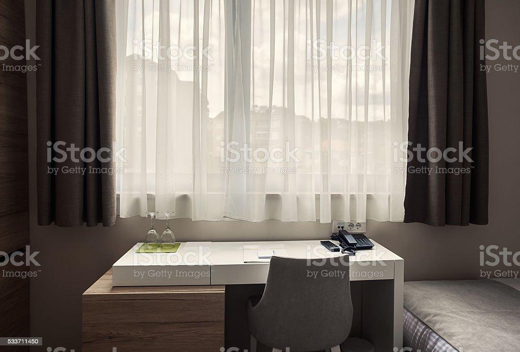 Beside The Window stock photo