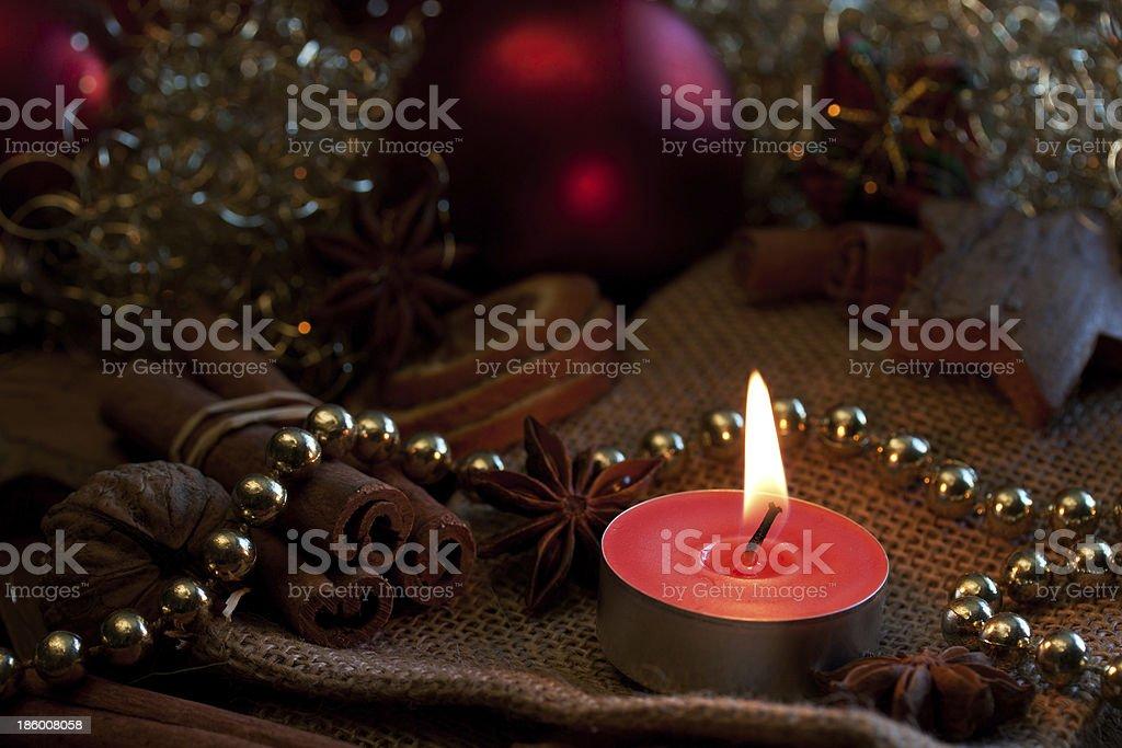 besinnliche weihnachtszeit stock photo