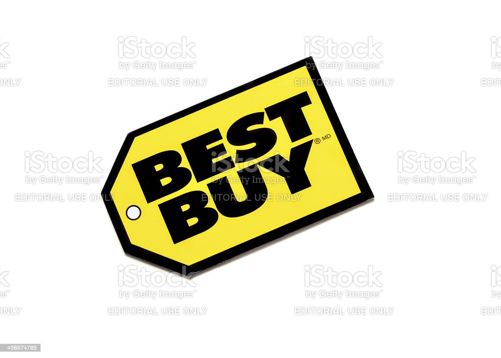 Best Buy Gift Card stock photo