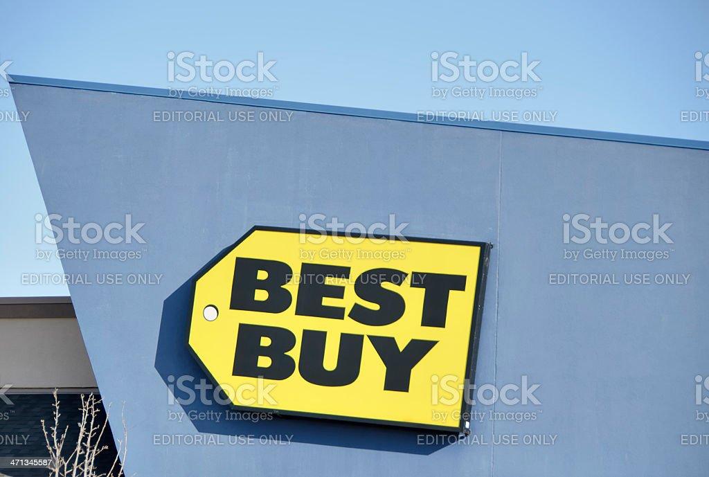Best Buy stock photo