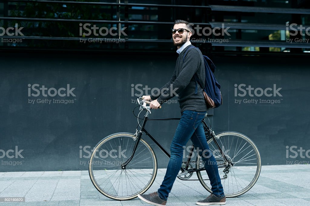 Best city transportation stock photo