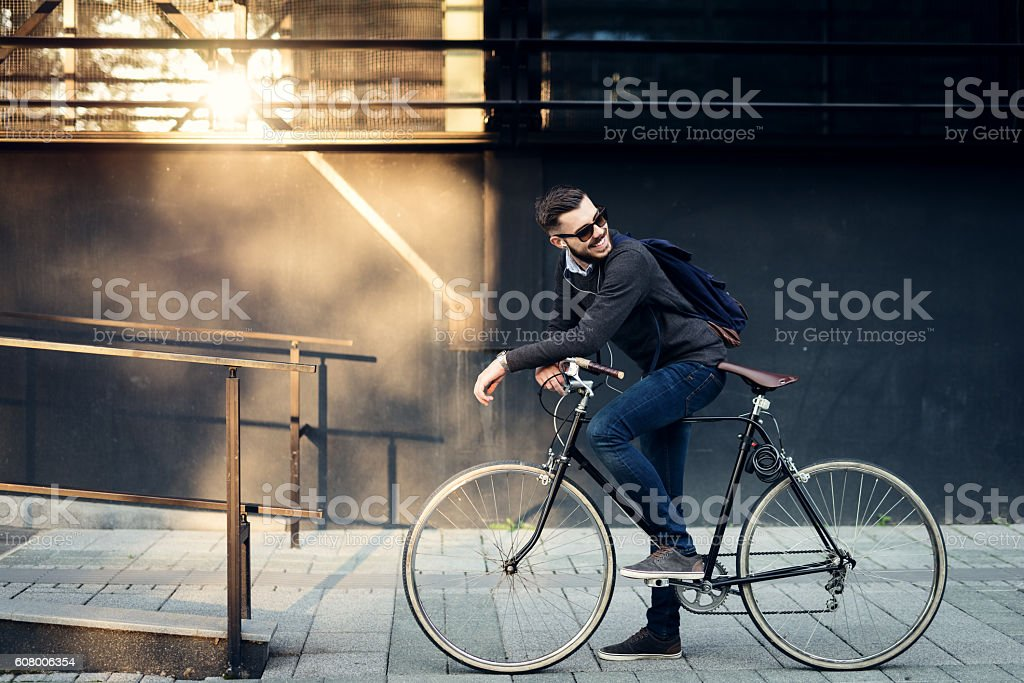 Best city transportation royalty-free stock photo