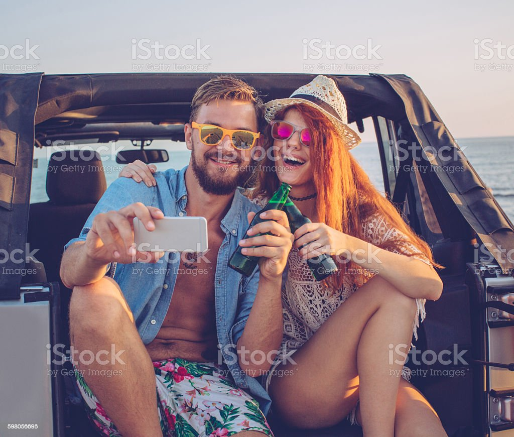 Best day of our lives stock photo