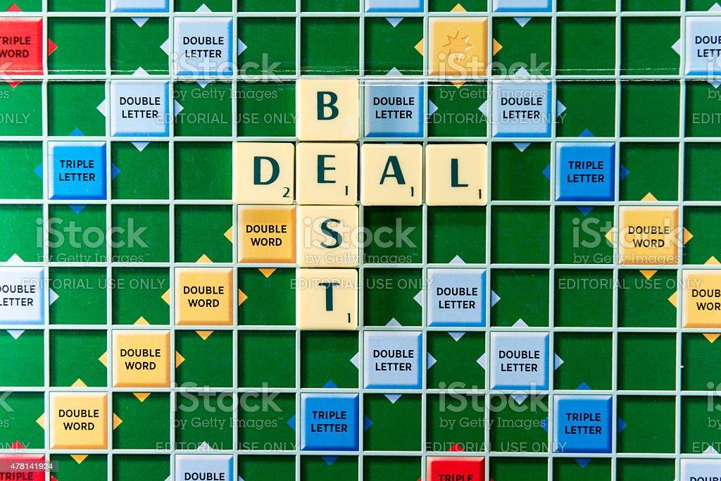 best deal stock photo
