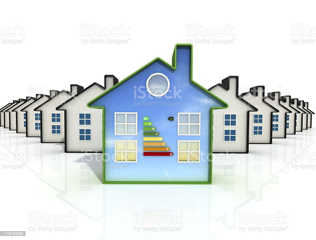 best eco  house royalty-free stock photo