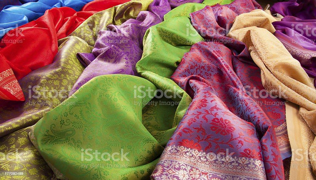 Best fabrics royalty-free stock photo