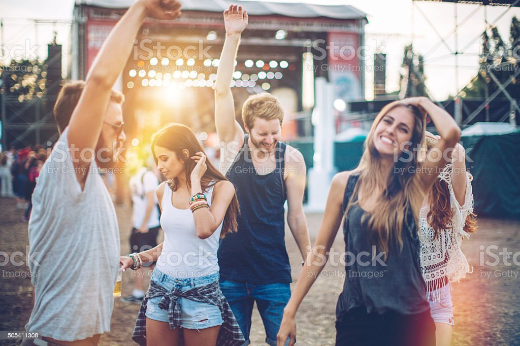 Best festival ever! stock photo