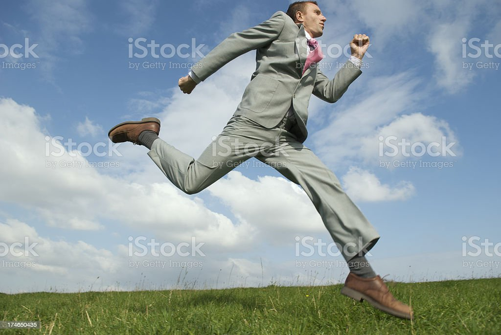 Best Foot Forward royalty-free stock photo