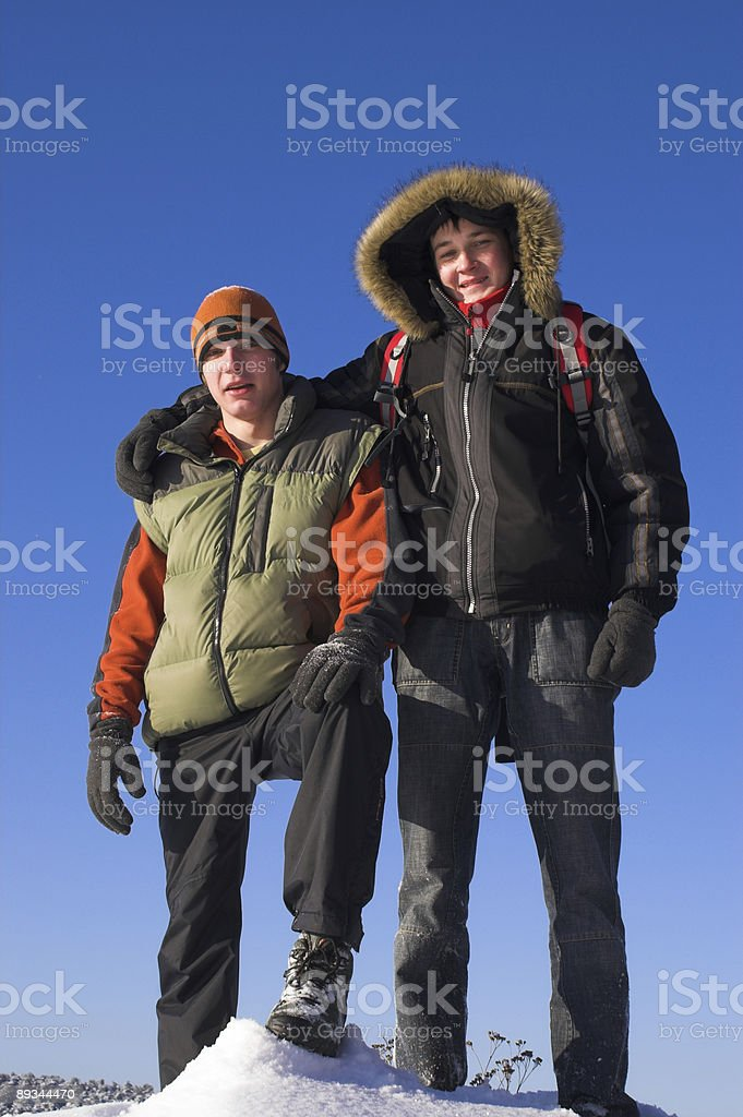 Best frends royalty-free stock photo