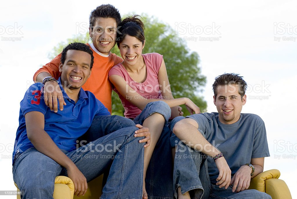 Best friends 1 royalty-free stock photo