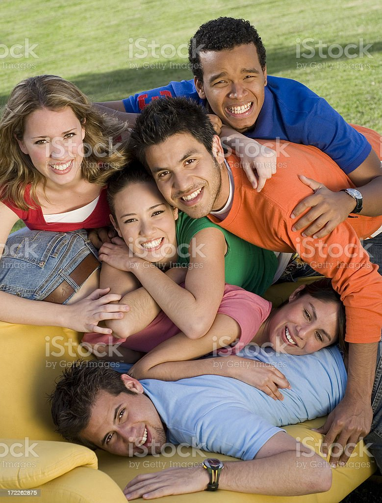 Best friends 10 royalty-free stock photo