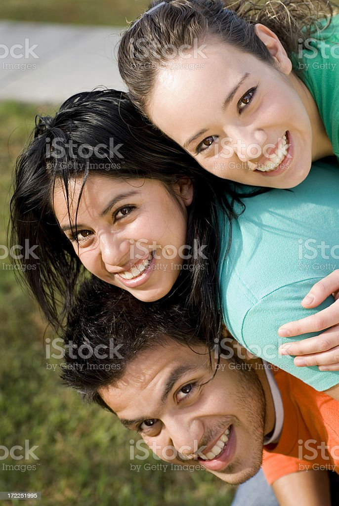 Best friends 8 royalty-free stock photo