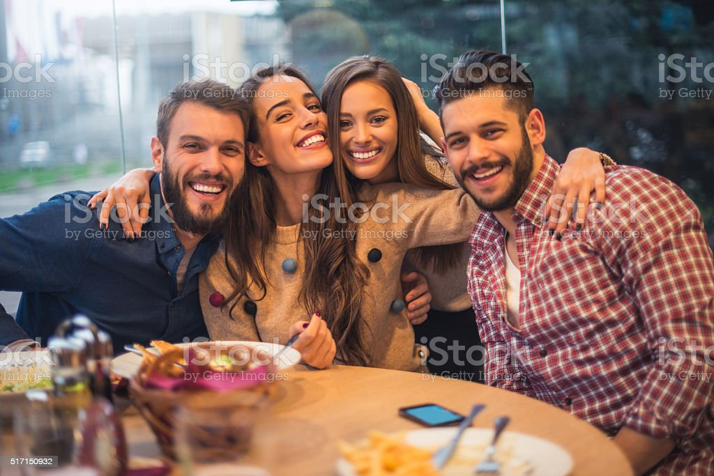 Best friends ever stock photo