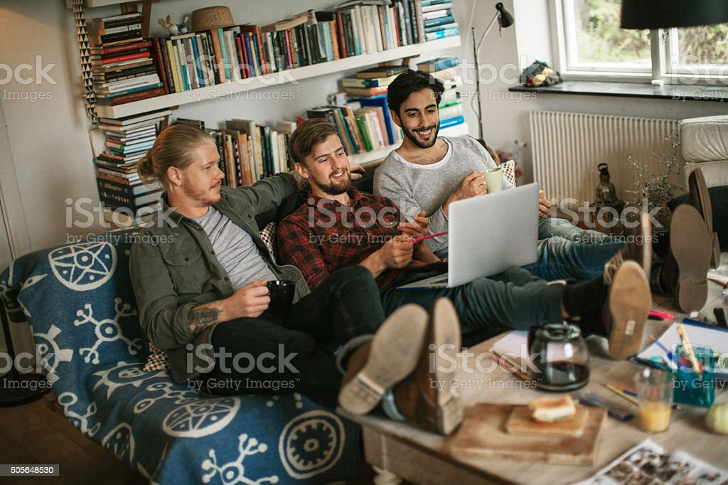 Best friends having a nice time stock photo