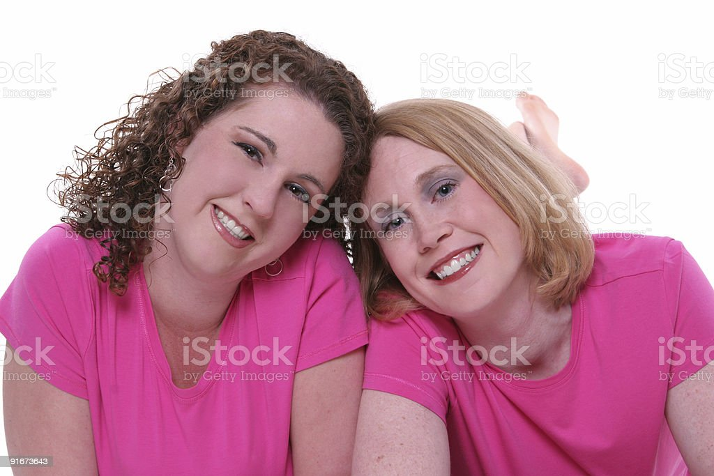 Best friends. royalty-free stock photo