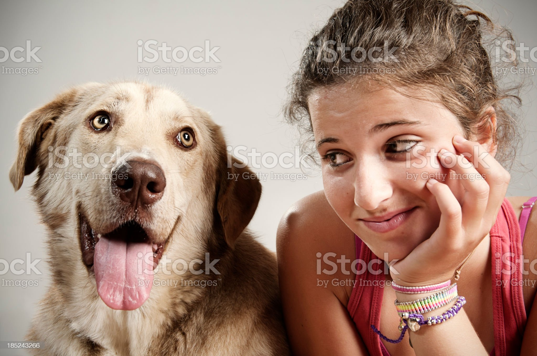 Best friends spending time together royalty-free stock photo