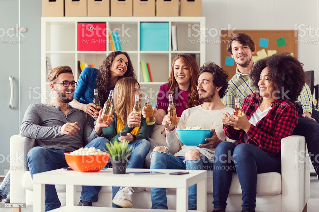 Best friends spending time together stock photo