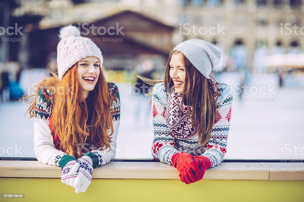 Best friends time! stock photo