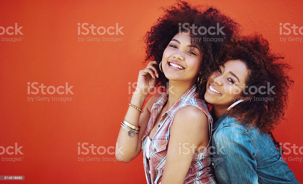 Best friends will always be there for each other stock photo