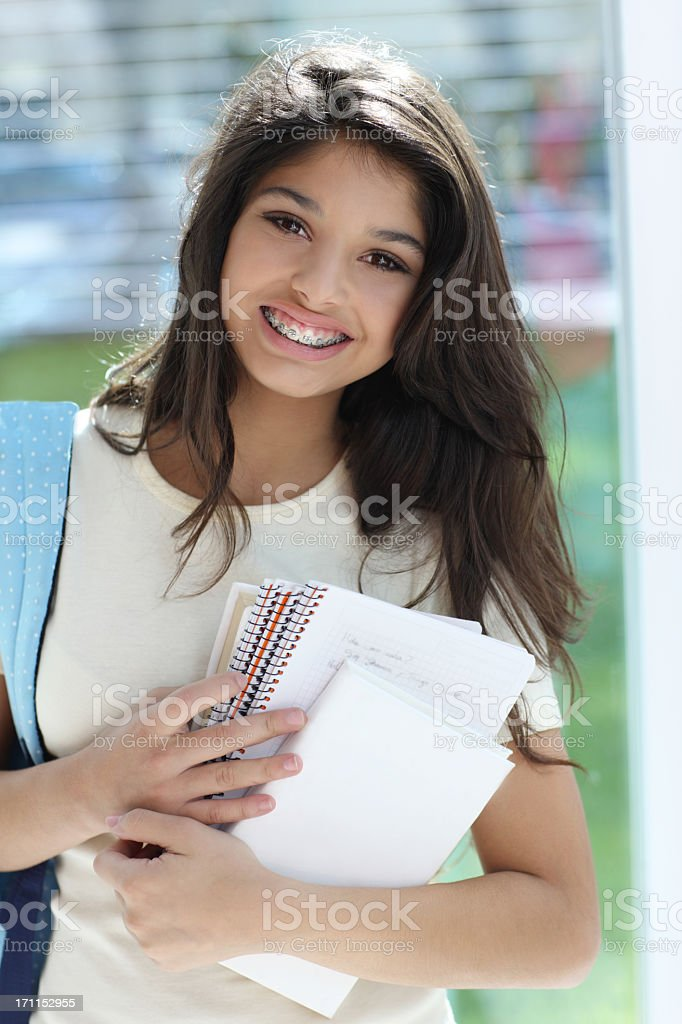 Best high school royalty-free stock photo