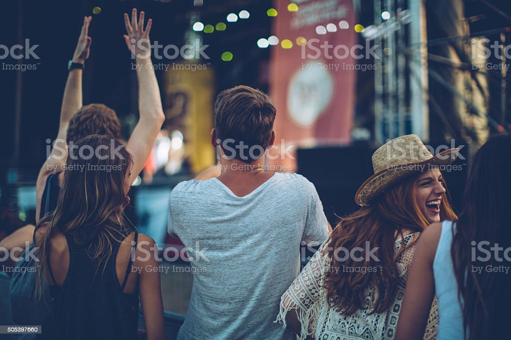 Best live show ever stock photo