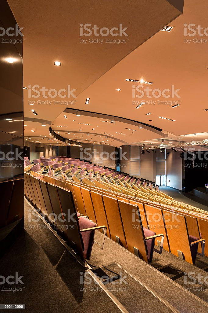 Best location for international conference stock photo
