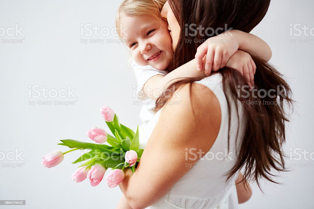 Best mom in the world stock photo