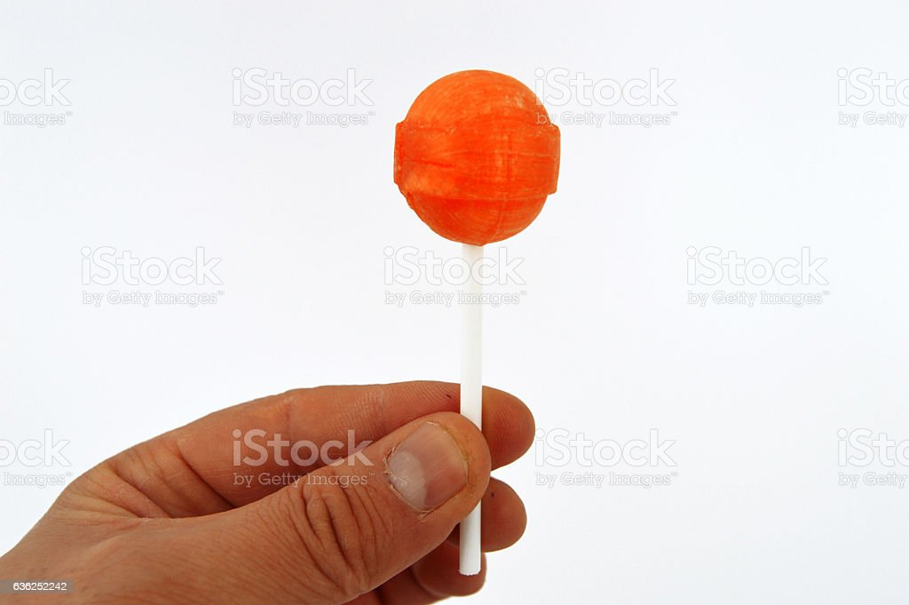 Best newest round suction candy stock pictures stock photo