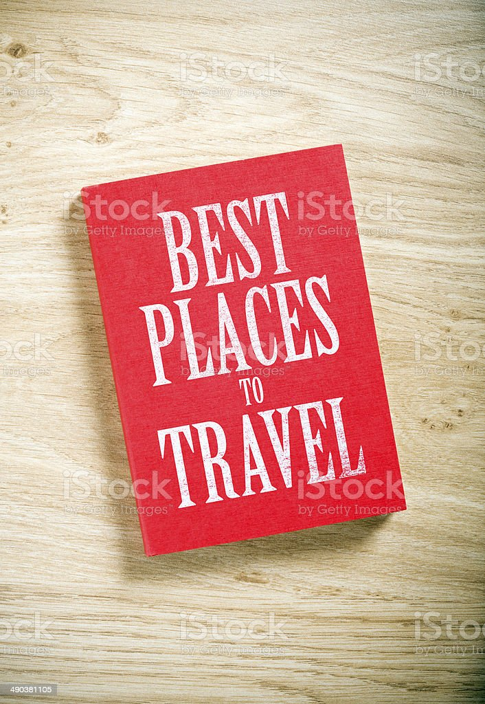 best places to travel stock photo