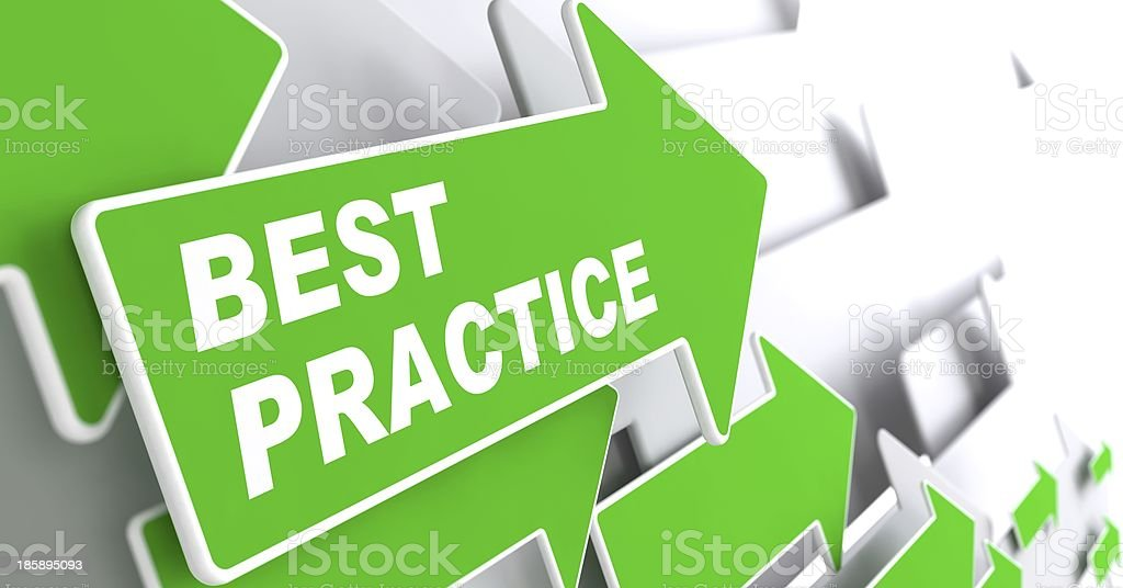 Best Practice. Business Background. royalty-free stock photo