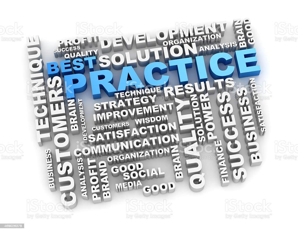 Best practice crossword stock photo