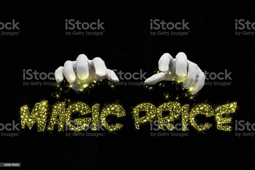 Best price concept. royalty-free stock photo