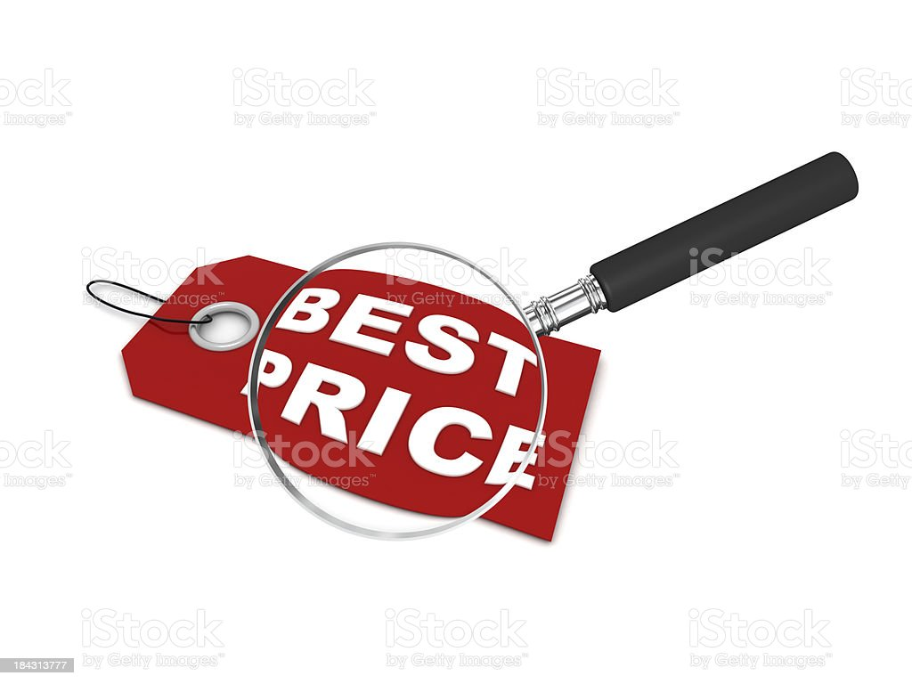 Best Price Search royalty-free stock photo
