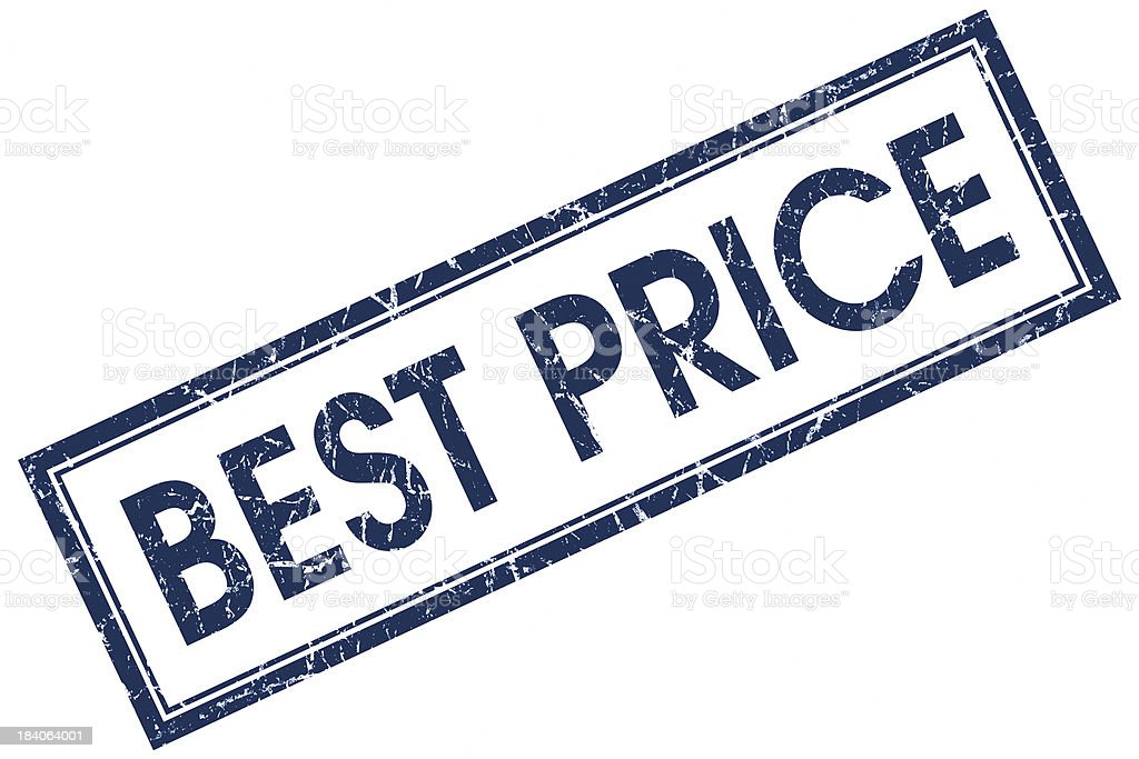 best price square stamp royalty-free stock photo