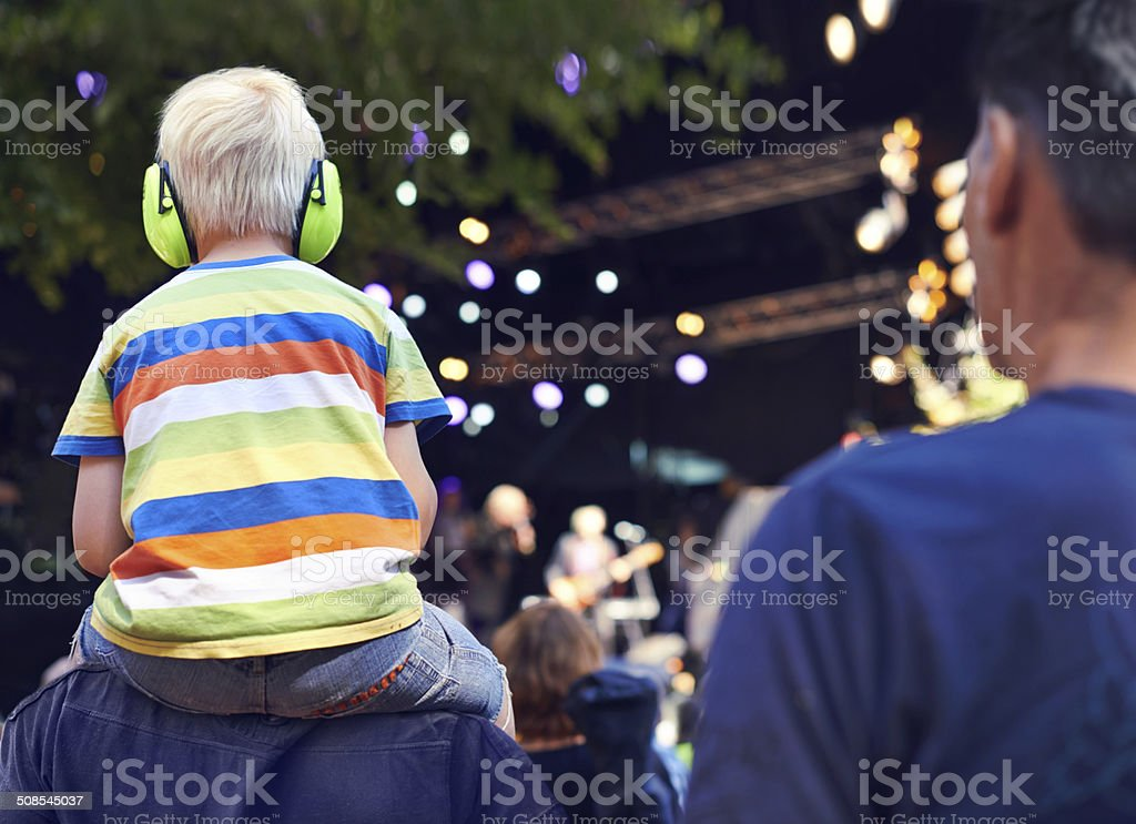 Best seat in the house stock photo