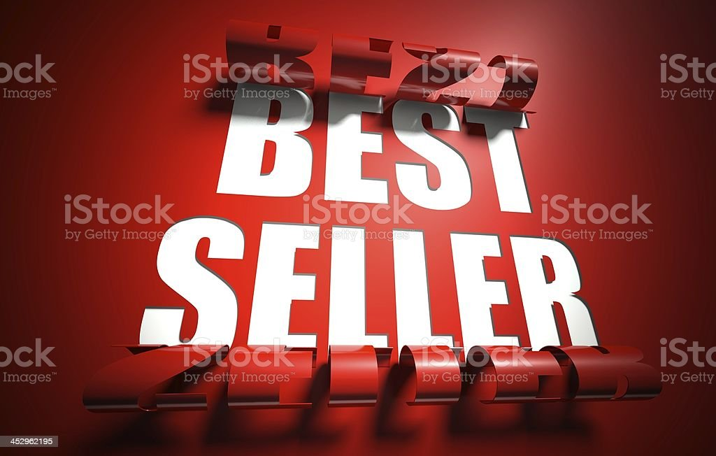 Best seller concept, cut out in background royalty-free stock photo
