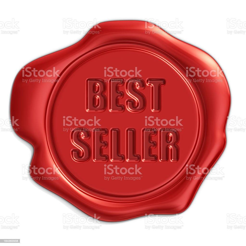 best seller seal stock photo