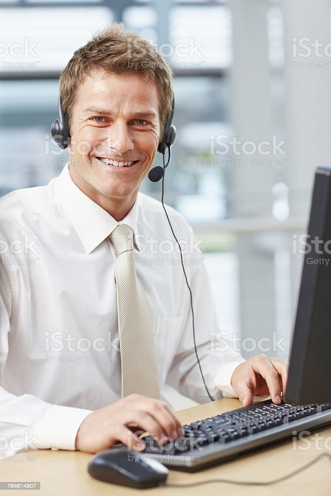 Best service possible royalty-free stock photo