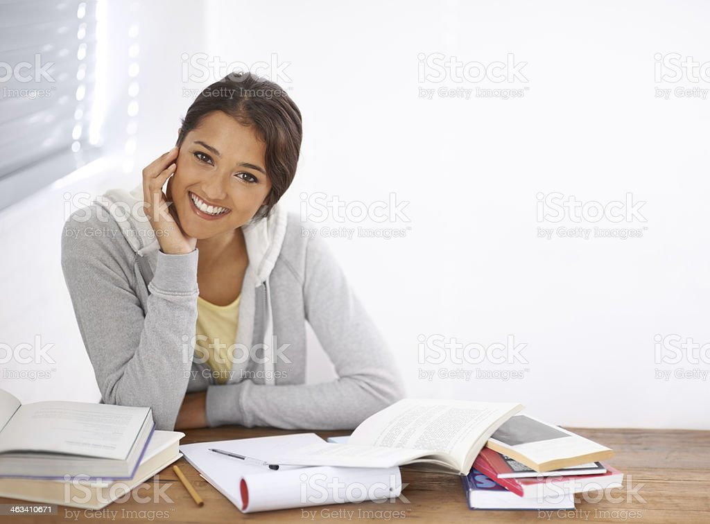 Best to be prepared for the exams! stock photo