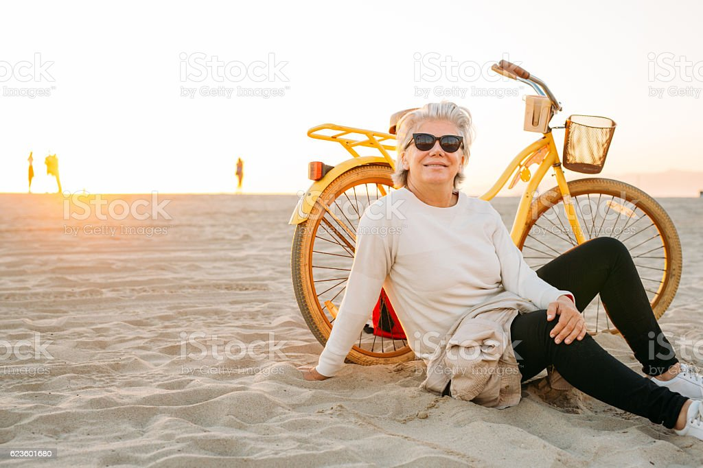 Best way to spend your golden years stock photo